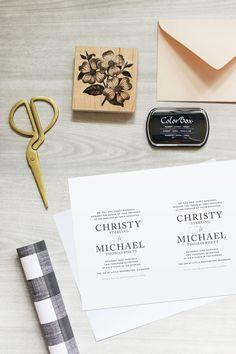 136 best DIY Wedding Invitations images on Pinterest in 2018 ...