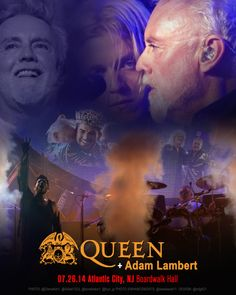 07.26.14 Atlantic City, NJ Boardwalk Hall @QueenWillRock + @adamlambert. Unofficial. HappyBday!