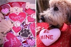 valentines day party table - Google Search
