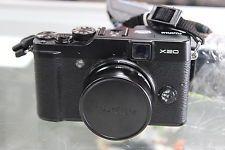 Fujifilm X Series X20 12.0 MP Digital Camera - Black w/ Charger + 1 Battery