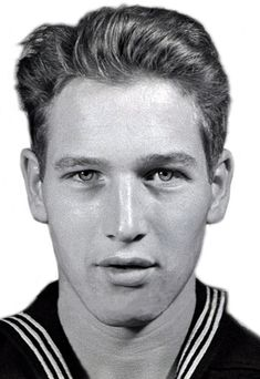 Paul Newman (1925-2008) served in the United States Navy during World War II in the Pacific theater. This is his official military identification photo. (ca. 1944)
