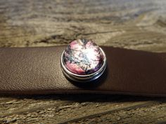 Leather snap bracelet with pink camo ...shooting hunting jewelry by CamoAndAmmoBoutique on Etsy