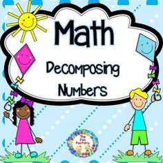 Decomposing Numbers for Pre-K, Kindergarten and even first grade.This differentiated unit has everything your students will need to practice decomposing numbers. 15 PRINT, NO PREP sheets are included. Great for independent center activities and/or use for small group instruction.