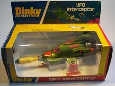 UFO Interceptor by Dinky Toys