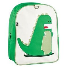 Little Kkid backpack, Percival the Dino by Beatrix New York, from MightyNest.com, $42.