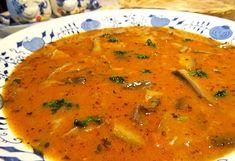 Recept : Dršťková polévka zhlívy ústřičné II. | ReceptyOnLine.cz - recepty a inspirace Thai Red Curry, Soup, Ethnic Recipes, Soups, Chowder