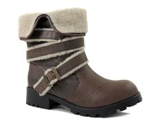 Dirty Laundry Women's Teela Vintage Work Boots Tan Brown Size 9 M #ChineseLaundry #SnowWinter