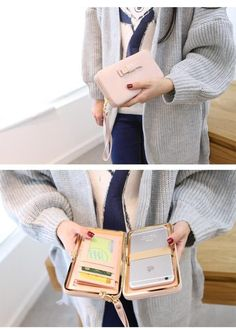 Instead of buying a cell phone cover that simply protects your device, why not pick up this multipurpose wallet phone case and keep your cards, cash and cell all in one place? Size: 18cm x 10cm x 2.7c