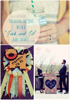 20 Amazing Jack U0026 Jill Baby Shower Ideas