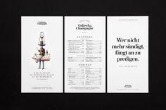 Gulasch & Champagne - Branding on Behance