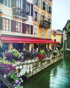 One of Europe's most charming little towns is Annecy, France