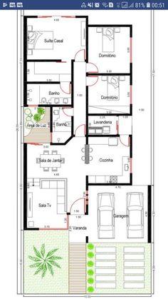 Bungalow Floor Plans, Small House Floor Plans, Home Design Floor Plans, Best House Plans, Dream House Plans, 10 Marla House Plan, Drummond House Plans, House Construction Plan, Model House Plan