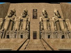 Visita Virtual Encarta 2009 - Abu Simbel, 1250 a. C.Beautiful Music