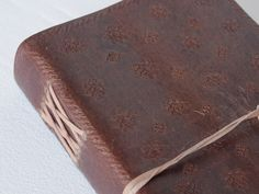 Large Embossed Leather Notebook  from Scaramanga