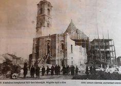 A belvárosi templom bontása 1925.