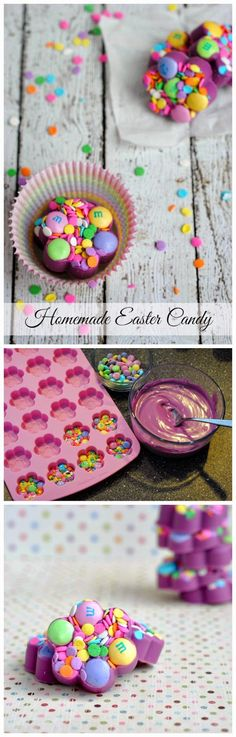 KID-FRIENDLY HOMEMADE EASTER CANDY