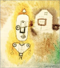 Paul Klee - Policeman in front of his House