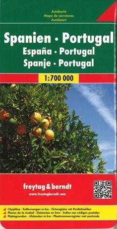 Spain and Portugal by Freytag-Berndt und Artaria