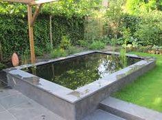 Afbeeldingsresultaat voor vijverbak tuin