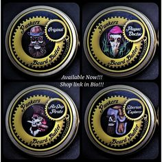 Punkers Emporium Butter's - Now Available! Beard Butter, Beard Care, Beard Grooming