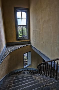 Meade Hotel Grand Staircase - Bannack Ghost Town - Montana
