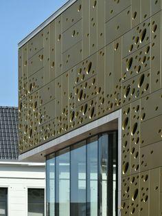 Retail Design, Facade Detail Architecture, Kalanderstraat, Enschede, The Netherlands
