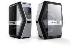 Rapide One - Affordable Professional Desktop 3D Printer by Rapide 3D | Indiegogo