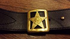 Military Russian Army Soviet officer leather belt uniform handmade belt Gift #Handmade