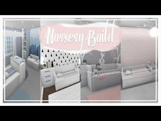 Hope this build helps you all with some nursery/crib ideas. Two Story House Design, Tiny House Layout, Unique House Design, House Layouts, Tiny House Bedroom, Bedroom House Plans, Baby Bedroom, House Rooms, Master Bedroom