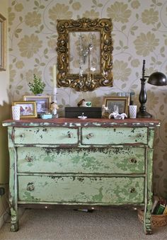 love love this chippy dresser diy painted furniture shabby chic