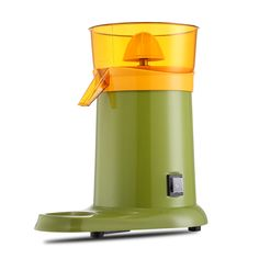 180w  Electrical operated personalr green color  lemon orange juice extractor.#www.chinablender.com