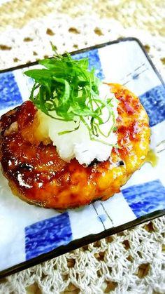 絶品!レンコン入り照り焼き豆腐ハンバーグ