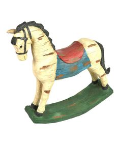 Look at this Rocking Horse Décor on #zulily today!