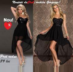 Noutati #rochite de club ieftine, la #reducere, rochia Gorgeous la doar 89 lei | Outlet online