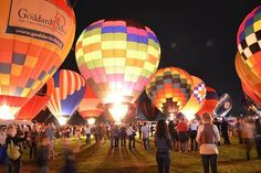 The Great Forest Park Balloon Race - St. Louis, MO