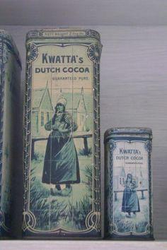 Vintage Dutch cocoa