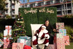 Breakfast with Santa at the Laguna Cliffs Marriott 2018 Event Photographer, Santa