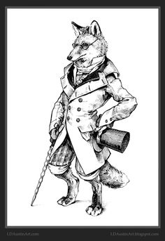Fox by LD Austin