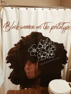 Black Beauty African American Art Shower Curtain For Sale By Amy