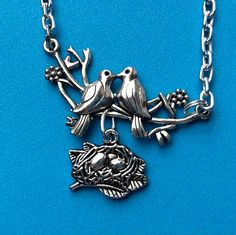 $17.00.  WAITING FOR BABY necklace.  So perfect.  :)