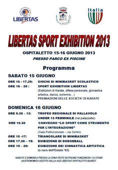Libertas Sport Exhibition a Ospitaletto http://www.panesalamina.com/2013/11856-libertas-sport-exhibition-a-ospitaletto.html