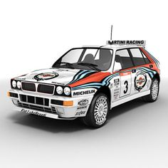 Cool Stuff We Like Here @ http://coolpile.com/rides-magazine/ ------- << Original Comment >> ------- Lancia Delta HF Integrale WRC