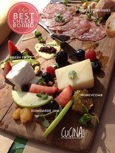 beautiful cheese board via cucina enoteca