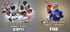 It's here! #ASG #HRDerby. I have to remember to watch! Go National league!!!