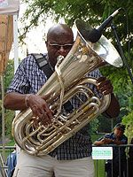 Harlem Meer Performance Festival | Join us each Sunday afternoon, 2:00 pm - 4:00 pm from June 24 - September 2, 2012, for lakeside music on the plaza of the Charles A. Dana Discovery Center in Central Park's beautiful north end (on 110th Street between Fifth and Lenox Avenues).     The Central Park Conservancy's Harlem Meer Performance Festival, now in its 19th summer, features the best in local established and emerging artists in the genres of jazz, Latin, gospel, blues and world music…