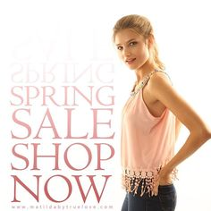 #halfyearlysale #newcollection #springsale #matildabytruelove Shop now  http://ift.tt/1MDtyLA