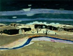 Forgotten Masters: Sir William George Gillies I have been a long-time lover of Art History… but I have also recognized the limitations of that discipline for quite some time. Abstract Landscape Painting, Landscape Art, Landscape Paintings, Abstract Art, Picasso Paintings, Your Paintings, Klimt, Art Nouveau, Art Uk