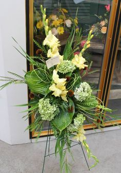Any Floral design request can be done. Your imagination is the limit! Send us request now for possible discounts that stand! Funeral Floral Arrangements, Large Flower Arrangements, Church Flowers, Funeral Flowers, Grave Decorations, Flower Decorations, Casket Flowers, Funeral Sprays, Casket Sprays