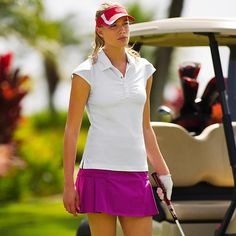 Cute little skort comes in four colors!  Love the little pleats on the side!