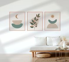 Abstract Botanical Print Set of 3, Neutral Botanical Wall Art, Minimal Botanical Art, Abstract Leaves, Printable Wall Art, Boho Wall Decor ★ You will receive a DIGITAL FILE/S. No physical product will be shipped and the frame is not included! Since it is a digital file, you will receive it Botanical Wall Art, Botanical Prints, Spiritual Decor, Graphic Design Print, Office Ideas, Wall Prints, Printable Wall Art, Abstract Art, Neutral